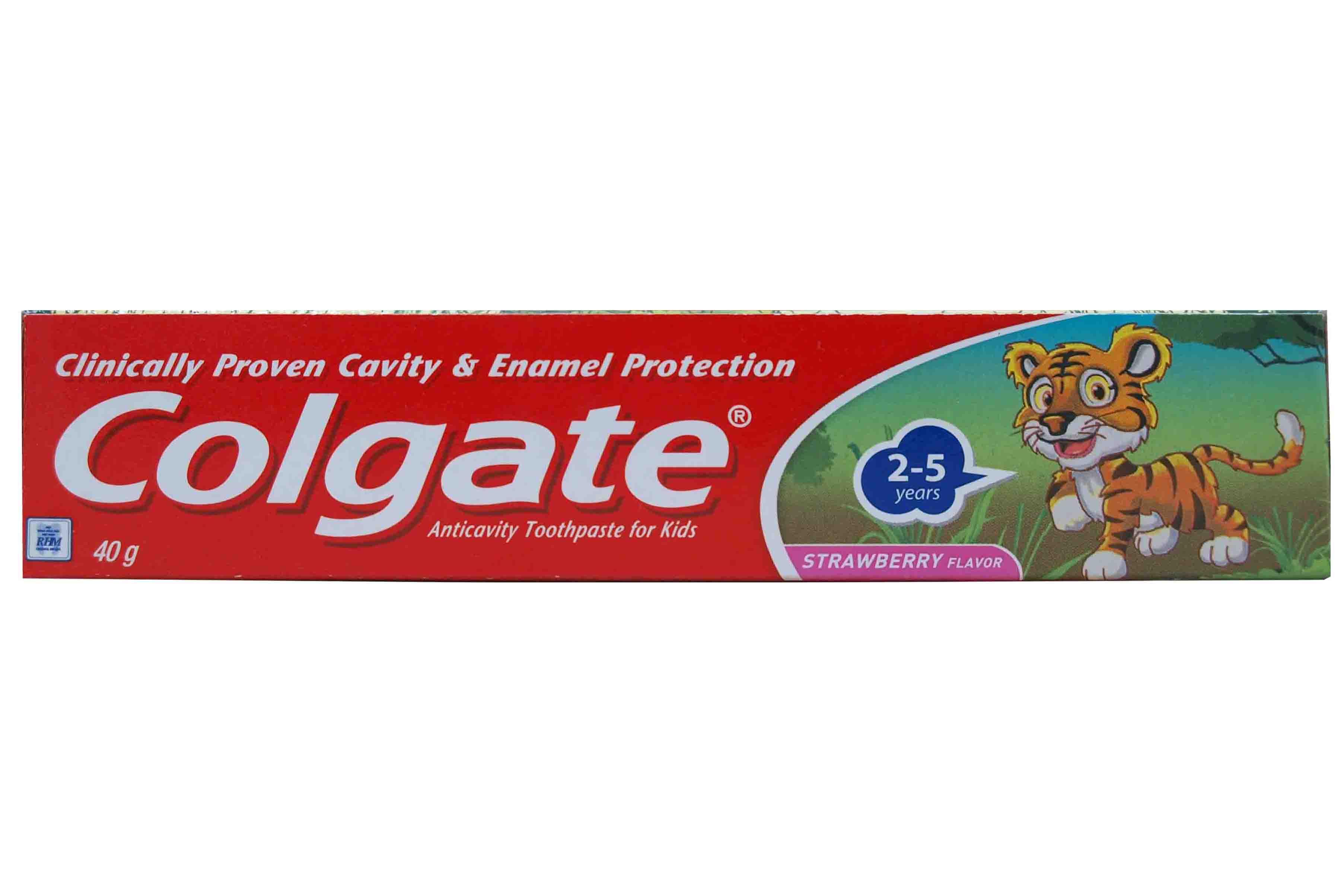 COLGATE TOOTHPASTE TIGER FOR KID 40GR