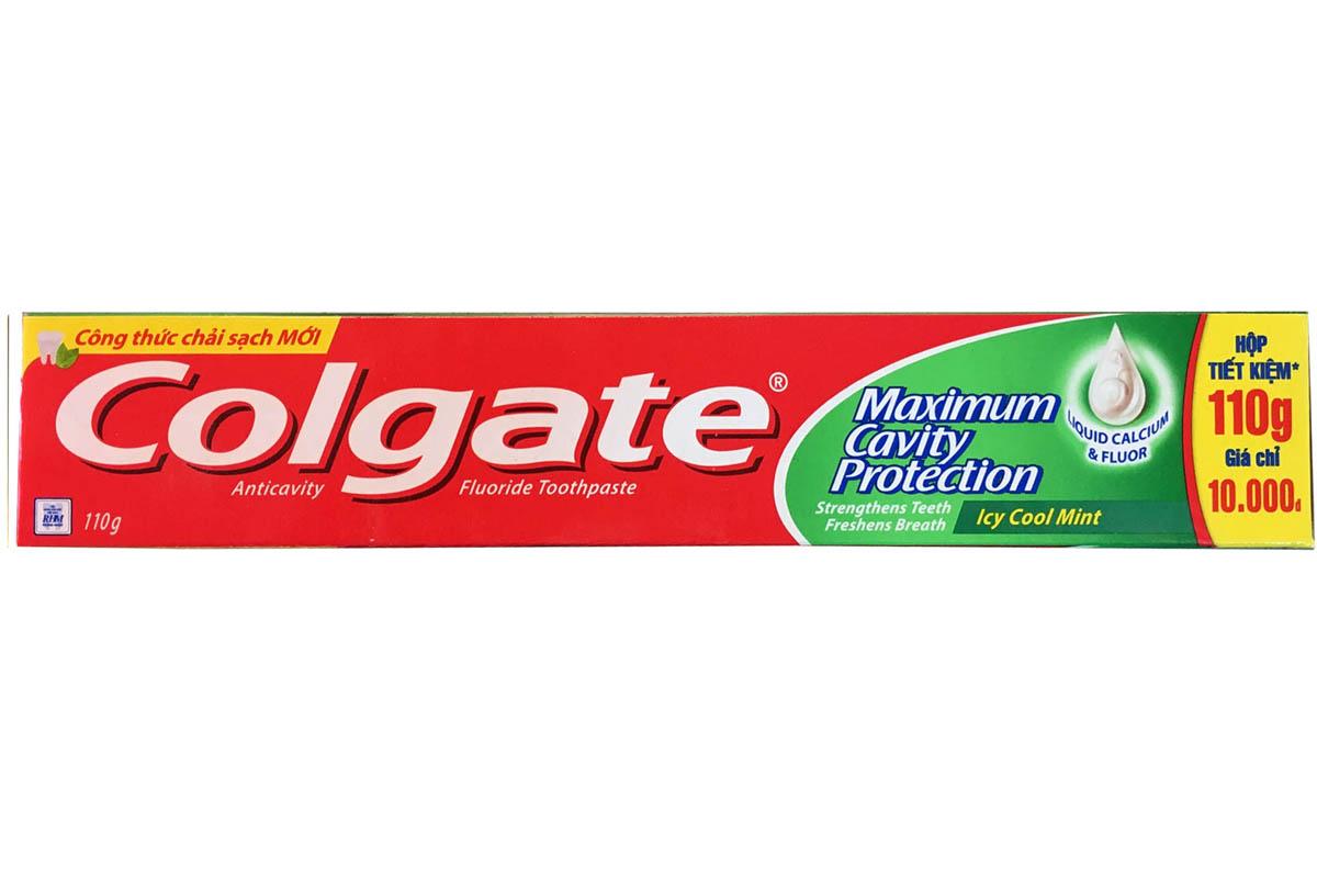 COLGATE MAXIMUM CAVITY PROTECTION TOOTHPASTE 110G